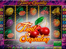 Онлайн аппарат Fruit Sensation