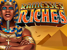 Играть в отличный автомат с простыми настройками - Ramesses Riches от Microgaming